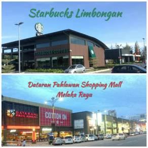 Swimming Pool, Gated Atlantic Residence Condo~ Starbucks Limbongan