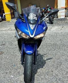 Yamaha yzf-r25 untuk dijual