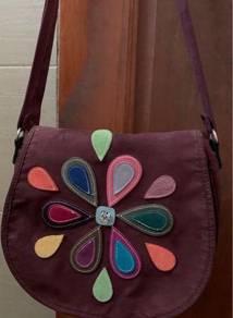 Handcraft sling bag