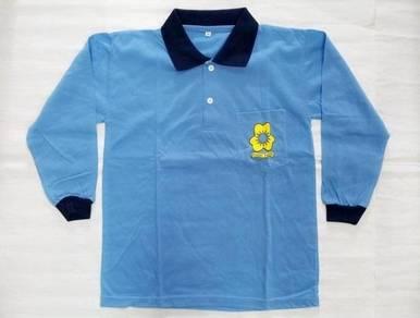 Kain Baju T-Shirt Uniform Pandu Puteri School sk m