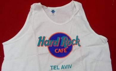 Vintage Hard Rock Cafe tank - Tel Aviv (NEW)
