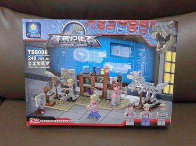 Brick Dinosaur Lab TS8006