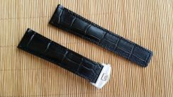 TAG HEUER CARRERA Black Leather Watch Strap 22mm
