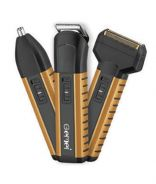 Gemei 3in1 Hair Clipper Trimmer Shaver Set C