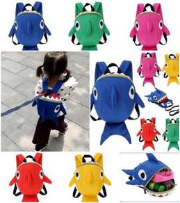 Shark Doo Doo Doo Harness Backpack Bag