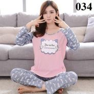 100% Authentic Cotton Ladies Pyjamas - 034