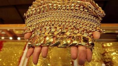 Membeli emas used, rosak, serta surat pajak