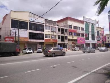 Kedai pejabat 3 tingkat untuk disewa Jalan Kebun Sultan Kota Bharu
