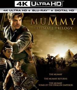 The Mummy Trilogy [4K ultra HD + Blu-ray]