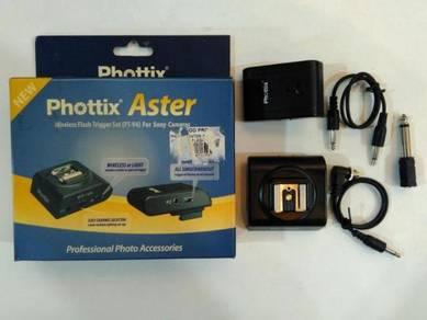 Phottix Aster Wireless Flash Trigger Set with Box