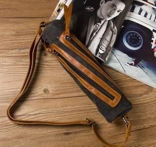 (109) Stylish Sport Chest Man Backpack Sling Bag
