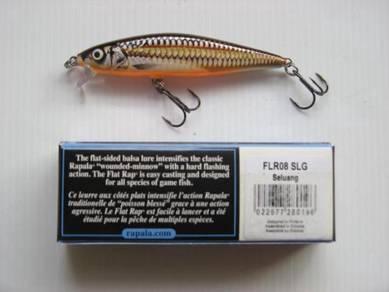 Rapala Flat Rap 8cm SLG Fishing Lure