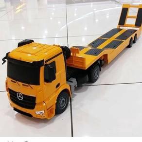 Flat bed trailer LORI panjang with remote 2.4GHzRc