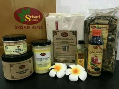 Set Berpantang Srisari Herbs