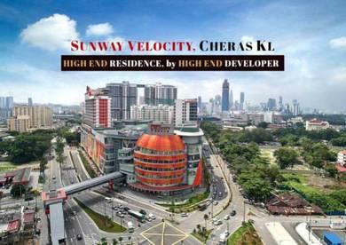 CASHBACK RM150k -RM250k, SUNWAY VELOCITY NEW PROJECT, 200m MRT