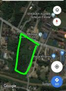 Freehold malay reserve land for sale - kampung sungai tiram, ulu tiram