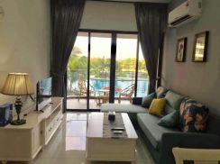 Country Garden Apartment at Danga Bay 2 Bed/ 2 Bath Facing POOL