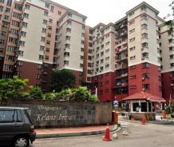 Kelana Impian Apartment Kelana Jaya 1035sqft Renovated Corner Lot