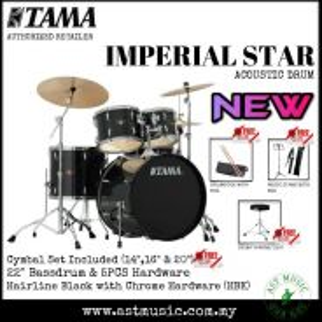 Tama Imperial Star IP52KH6 Drumset Package - HBK