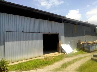 Warehouse Store Mini Factory untuk disewa di Menggatal Jln Limpugou