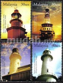 Historical Buildings Lighthouse Stamp Malaysia S