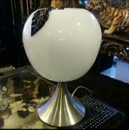 Big glass apple touch lamp stainless.stand SLG