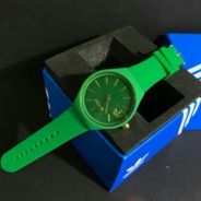 New rubber watch