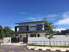New modern design Double Storey Semi D at Jln Stephen Yong, kuching
