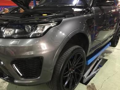 Range rover sport svr engine rebuilt repair