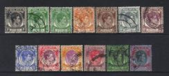 Ss kgvii 1937-1941 defins 13 used cat 13+ bl546