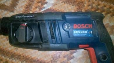 Bosch hammer drill bor 2 dalam 1