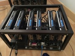 AMD mining rig RX480 170MH/s