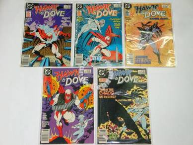 HAWK and DOVE 1988 and 1989 comics. complete set