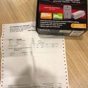 Aztech homeplug av 500 mbps twin pack