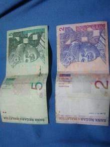 RM2 & RM5 Lama Untuk Dijual