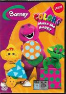 DVD CARTOON BARNEY Colors Make Me Happy