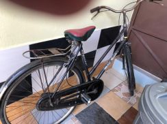 Antique Raleigh bicycle