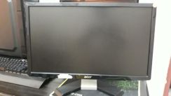Monitor acer 20inci slim led vga dvi