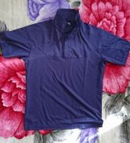 Uniqlo T-shirt Jersey Deep Blue Ocean