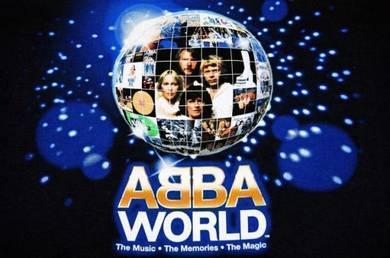 T Shirt ABBA - World Music The Memories [L] NEW