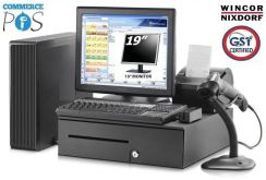 POS System PC for Cafe Restaurant Retail Shop SST