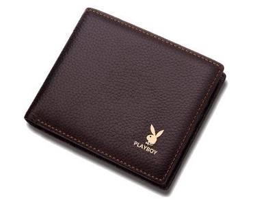 Playboy Original Genuine Leather Men's Wallet