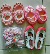 Brand new baby girl shoe