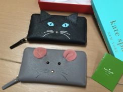 Authentic Kate spade wallet meow limited addition