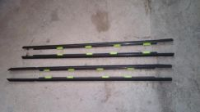 Honda civic EK4 VIRS black door short moulding