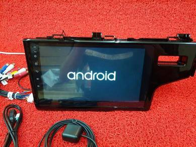 Honda jazz gk android 7.1 mirror link mp4 player