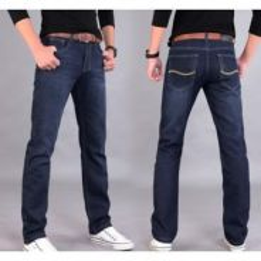 DRTS366 Men Denim Jeans Long Pants Smart Casual