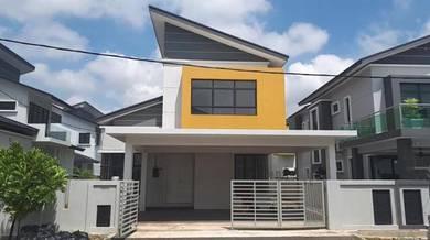 Tmn 1 Krubong Brand New Double Storey Detached House