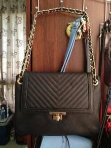 Handbag double M milano