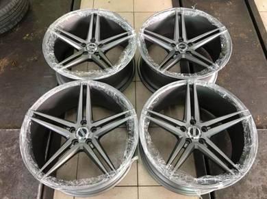 18 inch Vossen Precision Design Sport Rim 100x5